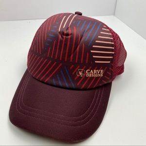 carve designs graphic trucker snap back hat